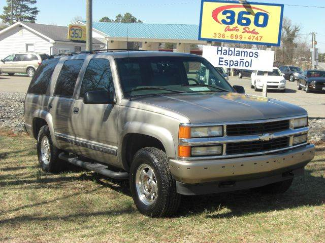 2000 Chevrolet Tahoe For Sale In East Bend Nc