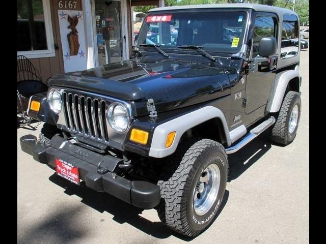 2005 Jeep Wrangler for sale in El Dorado CA