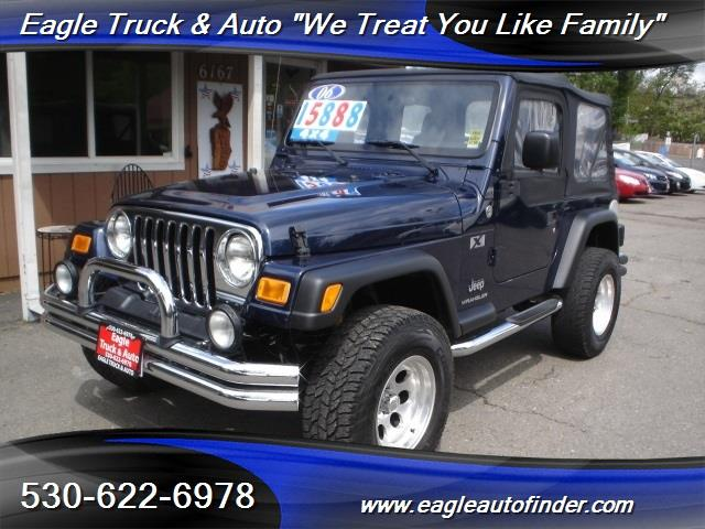 2006 Jeep Wrangler for sale in El Dorado CA