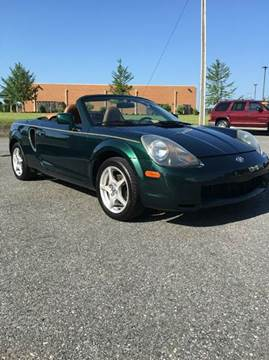2002 Toyota MR2 Spyder for sale in Lynchburg, VA