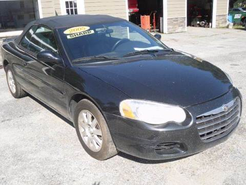 2005 Chrysler Sebring for sale in Mechanic Falls, ME