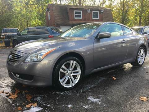 2009 Infiniti G37 Coupe for sale in Glenshaw, PA