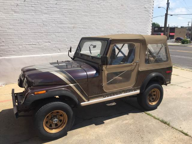 1980 jeep cj 7 golden hawk golden hawk 4x4 in saint louis. Black Bedroom Furniture Sets. Home Design Ideas