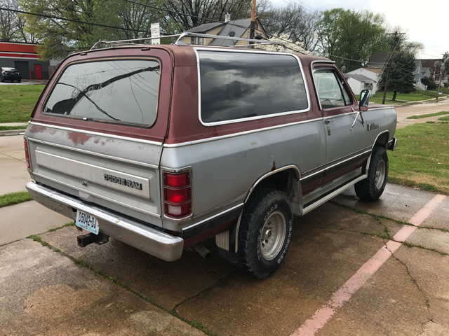 1986 Dodge Ramcharger 150 2dr 4WD SUV - St Louis MO