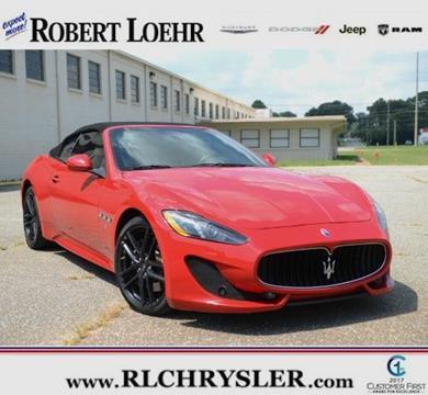 2014 Maserati GranTurismo for sale in Cartersville, GA