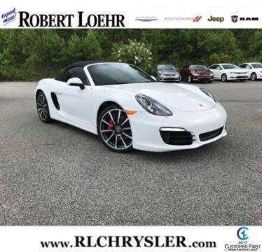 2014 Porsche Boxster for sale in Cartersville, GA