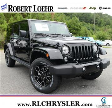 2017 Jeep Wrangler Unlimited for sale in Cartersville, GA