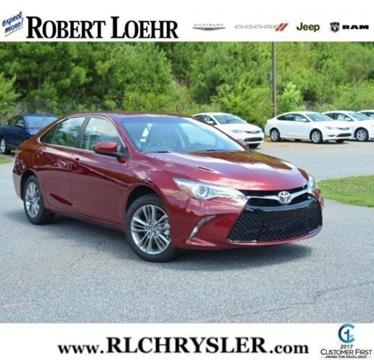 2017 Toyota Camry for sale in Cartersville, GA