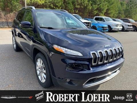 2016 Jeep Cherokee for sale in Cartersville, GA