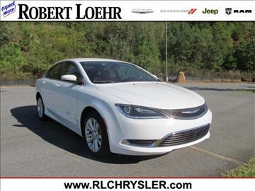 2016 Chrysler 200 for sale in Cartersville, GA