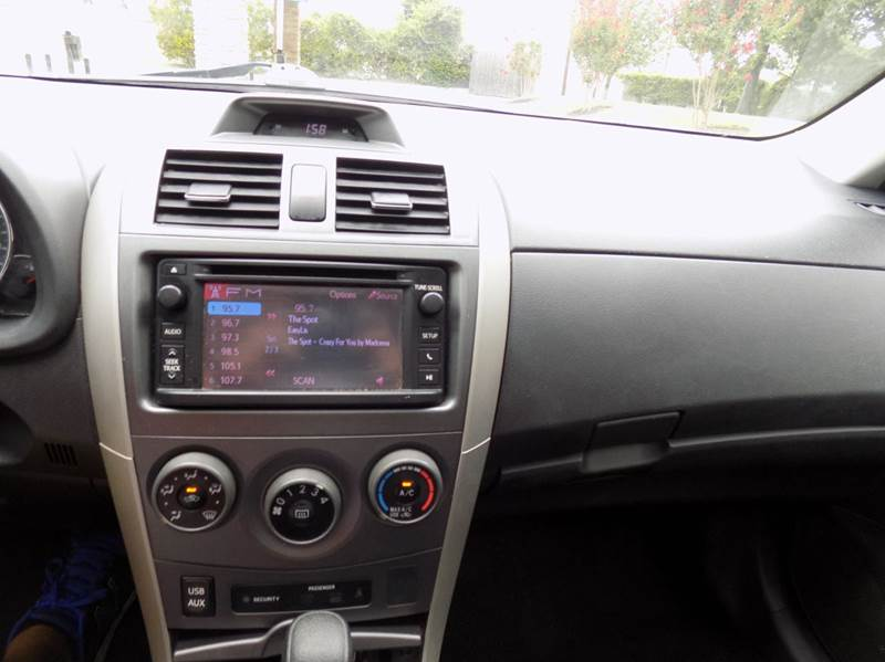 2013 Toyota Corolla S 4dr Sedan 4A - Spring TX