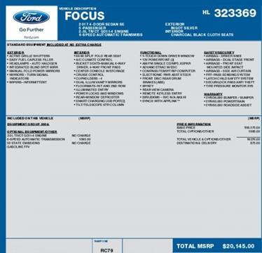2017 Ford Focus for sale in Morton, IL