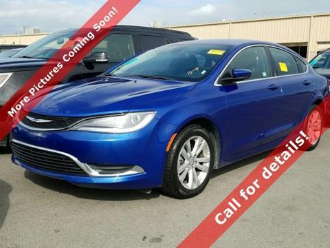 2016 Chrysler 200 for sale in Morton, IL