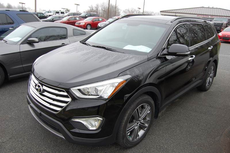 2014 hyundai santa fe limited 4dr suv w saddle interior in for Modern motors thomasville nc
