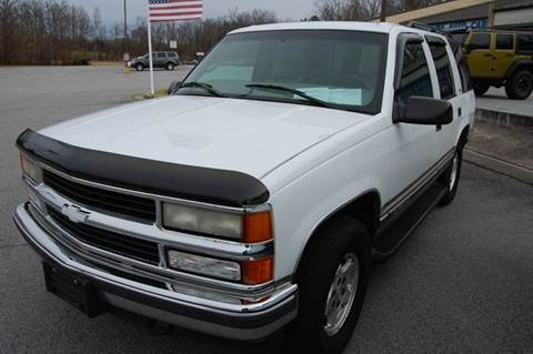 1999 chevrolet tahoe for sale north carolina for Modern motors thomasville nc