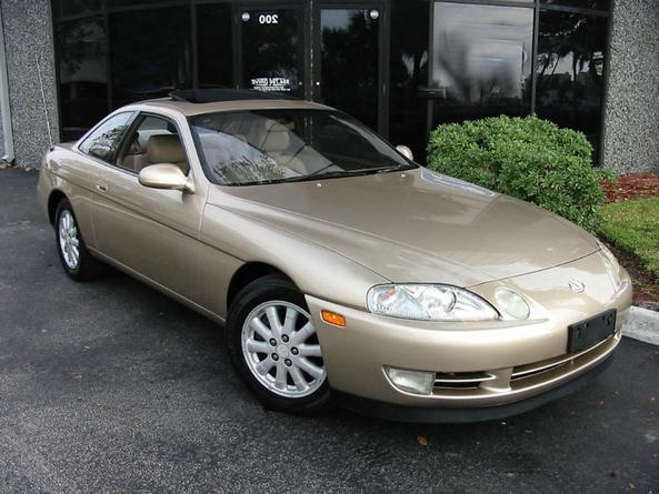 used 1992 lexus sc 400 for sale gold 1992 lexus sc 400 coupe in. Black Bedroom Furniture Sets. Home Design Ideas