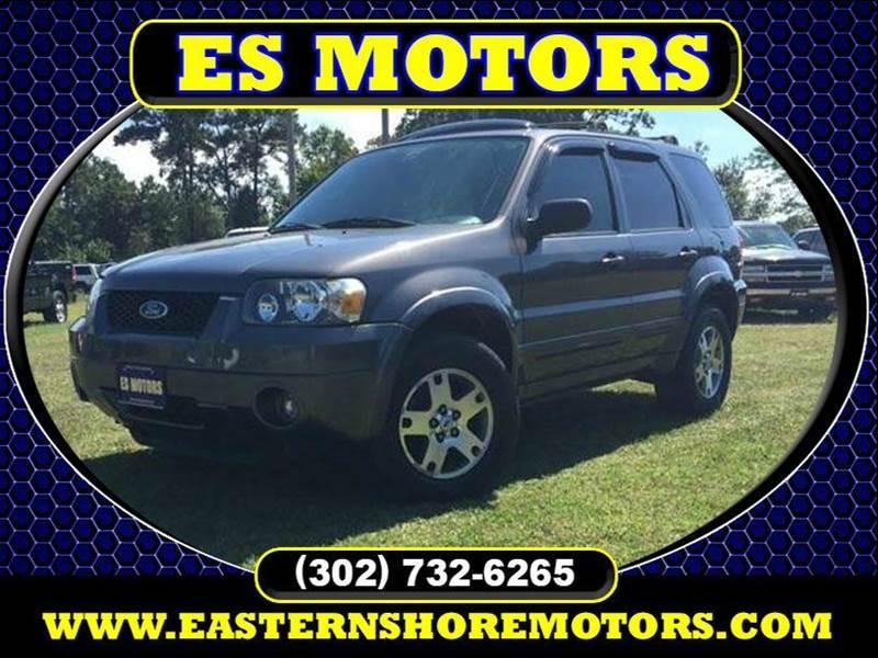 Ford escape for sale in dagsboro de for Es motors dagsboro delaware