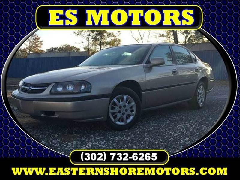 2001 chevrolet impala for sale in sarasota fl for Es motors dagsboro delaware