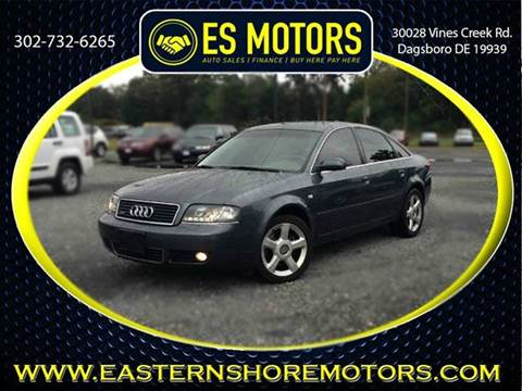 2004 Audi A6 for sale in Dagsboro, DE