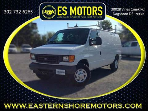 2007 Ford E-Series Cargo for sale in Dagsboro, DE