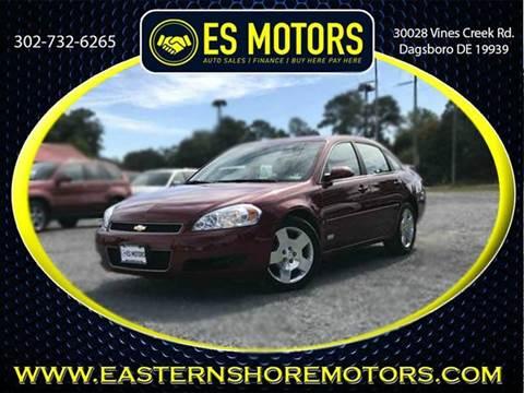 2008 Chevrolet Impala for sale in Dagsboro, DE