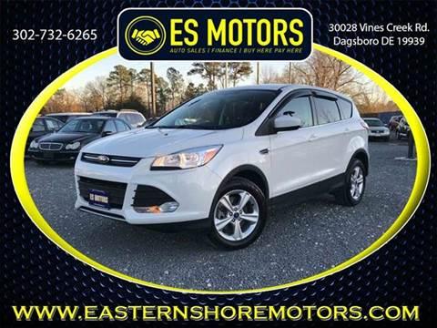 Ford escape for sale dagsboro de for Es motors dagsboro delaware