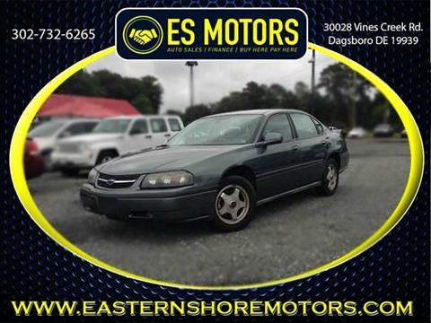 2004 Chevrolet Impala for sale in Dagsboro, DE