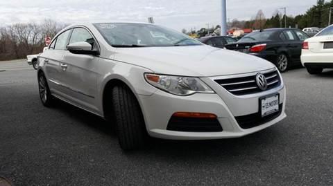 2012 Volkswagen CC for sale in Dagsboro, DE