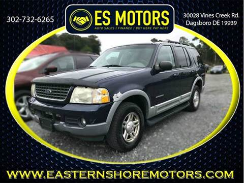 2002 Ford Explorer for sale in Dagsboro, DE