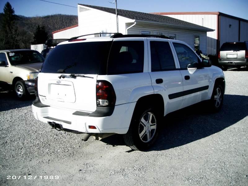 2005 Chevrolet TrailBlazer LS 4WD 4dr SUV - Jacksboro TN