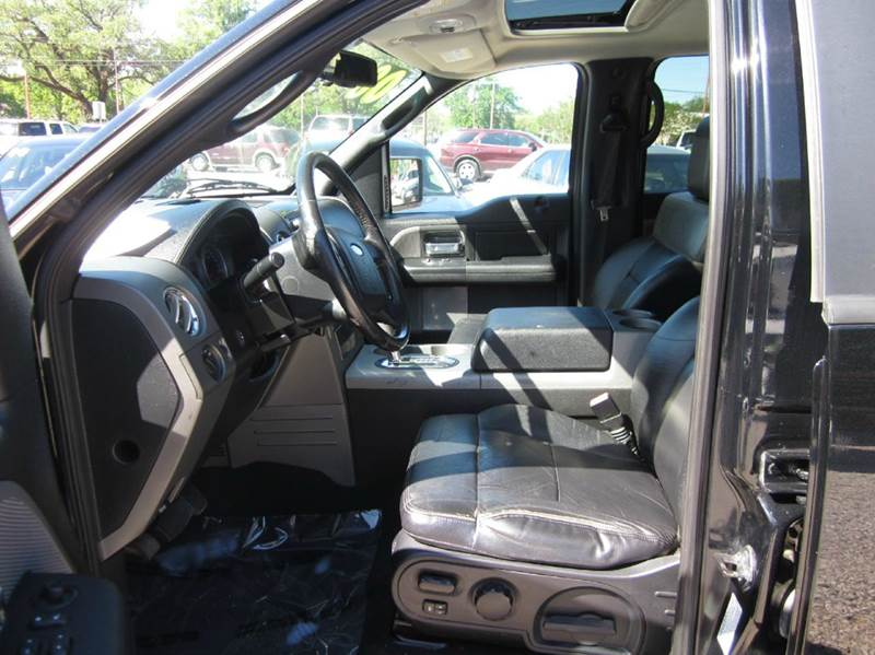 2008 Ford F-150 4x4 Lariat 4dr SuperCrew Styleside 5.5 ft. SB - Lufkin TX