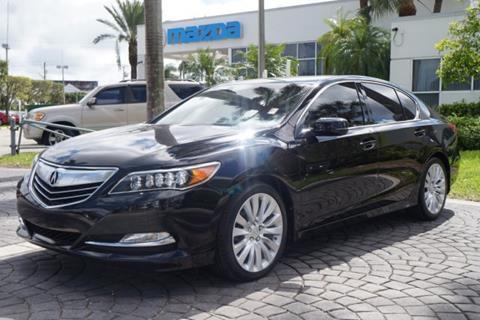 2015 Acura RLX for sale in Miami, FL