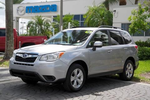 2016 Subaru Forester for sale in Miami, FL