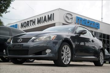 2010 Lexus IS 250C for sale in Miami, FL