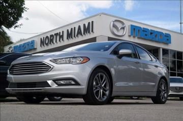 2017 Ford Fusion Hybrid for sale in Miami, FL