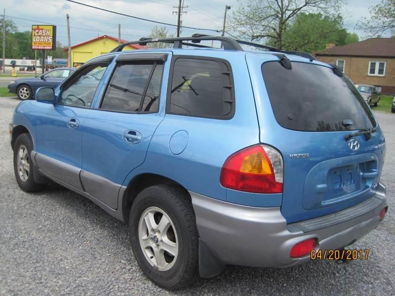 2004 Hyundai Santa Fe AWD GLS 4dr SUV - Cape Girardeau MO