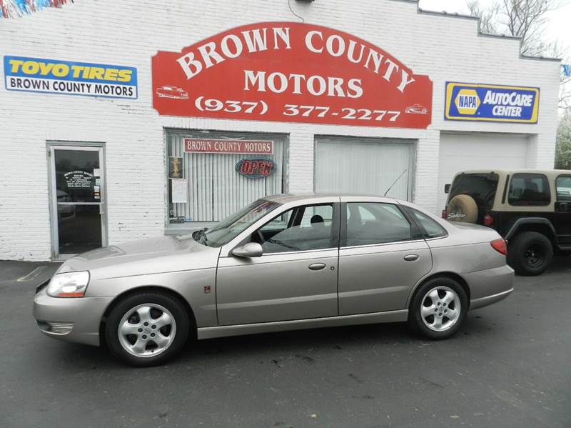 2003 saturn l series l300 4dr sedan in russellville oh for Brown county motors russellville ohio