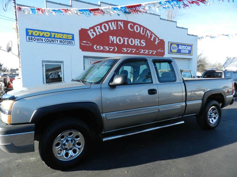 Brown County Motors Used Cars Russellville Oh Dealer