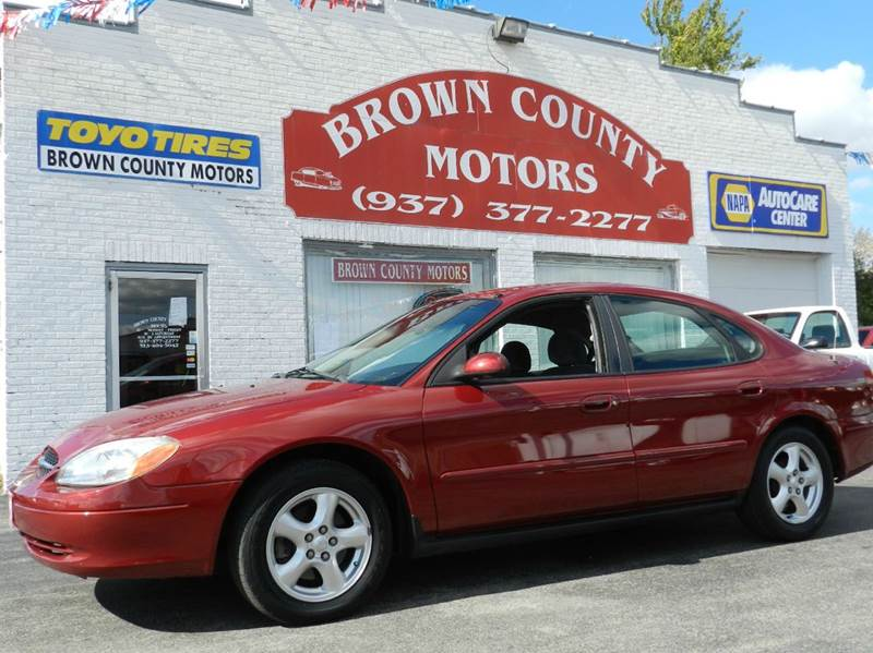 2002 ford taurus for sale in russellville oh for Brown county motors russellville ohio