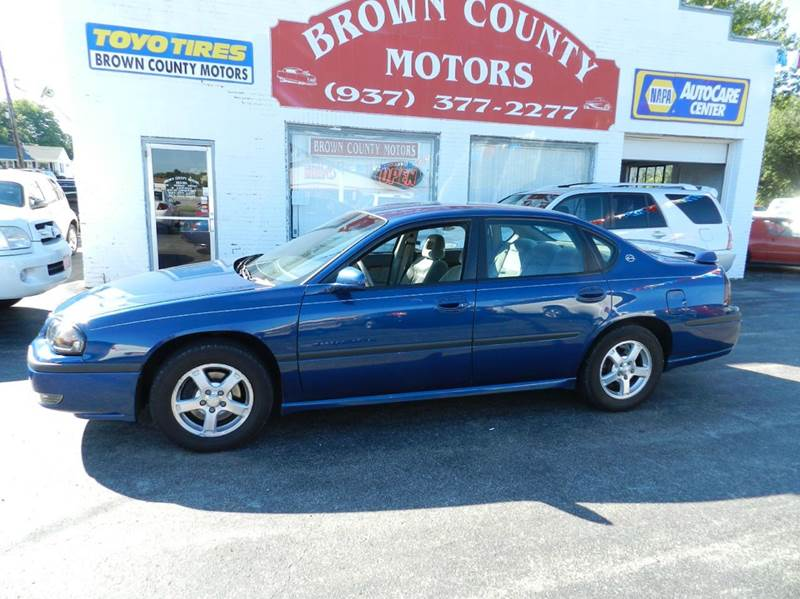 2003 chevrolet impala for sale in lincoln ne for Brown county motors russellville ohio