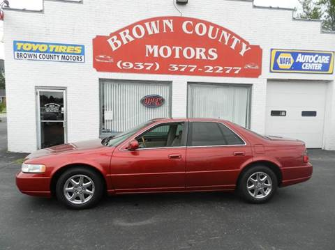 2002 Cadillac Seville for sale in Russellville, OH