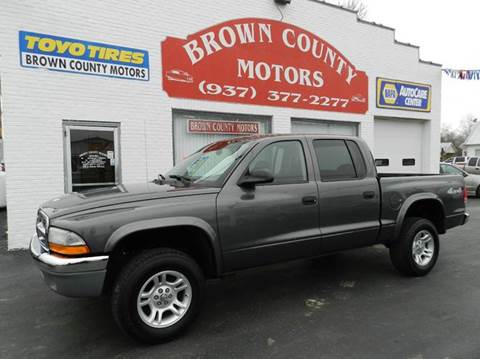 Dodge dakota for sale ohio for Brown county motors russellville ohio