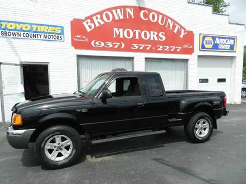 2002 ford ranger for sale for Brown county motors russellville ohio