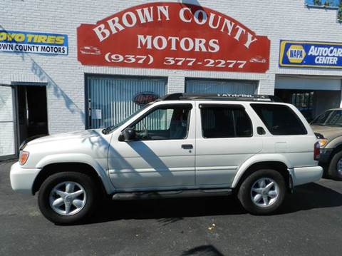 2002 Nissan Pathfinder for sale in Russellville, OH
