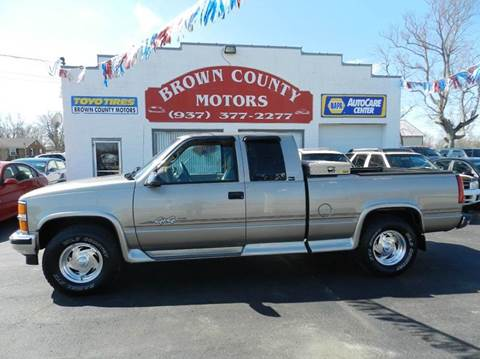 Chevrolet c k 1500 series for sale in ohio for Brown county motors russellville ohio