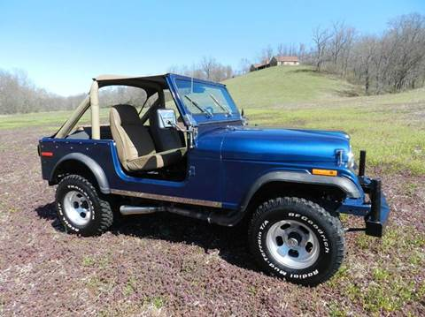 Jeep cj 7 for sale for Brown county motors russellville ohio