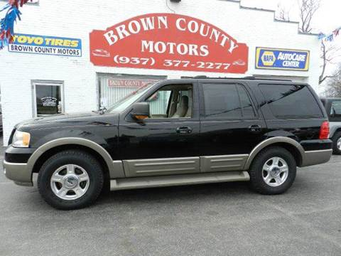 Used 2004 ford expedition for sale in ohio for Brown county motors russellville ohio