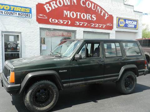 1996 jeep cherokee for sale for Brown county motors russellville ohio