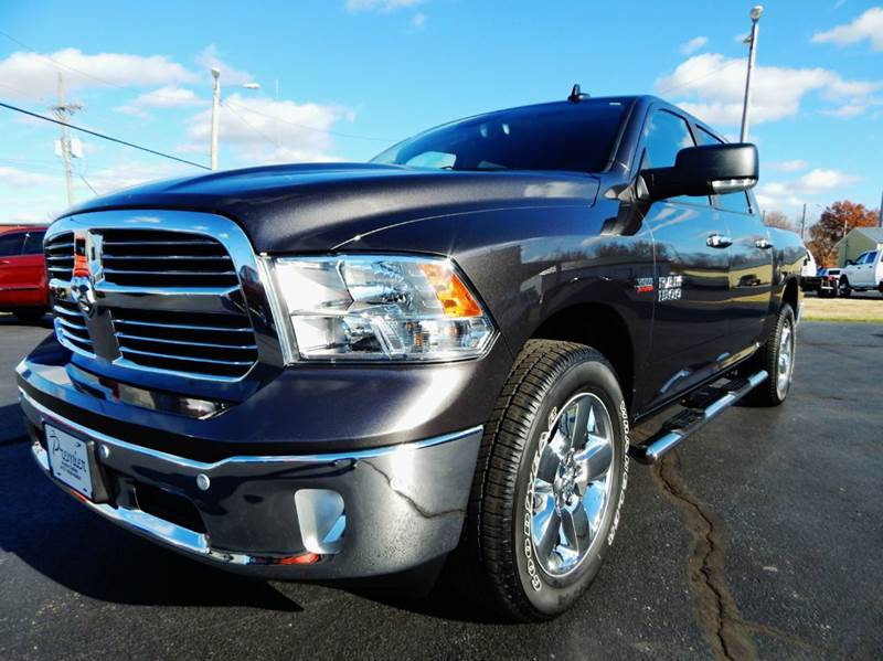 Hi Lo Auto Sales >> 2016 Ram Ram Pickup 1500 4x4 Big Horn 4dr Crew Cab 5.5 ft. SB Pickup In Carthage MO - PREMIER ...