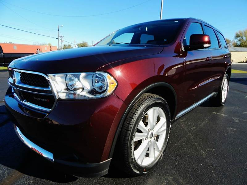 2012 dodge durango crew lux awd 4dr suv in carthage mo. Black Bedroom Furniture Sets. Home Design Ideas